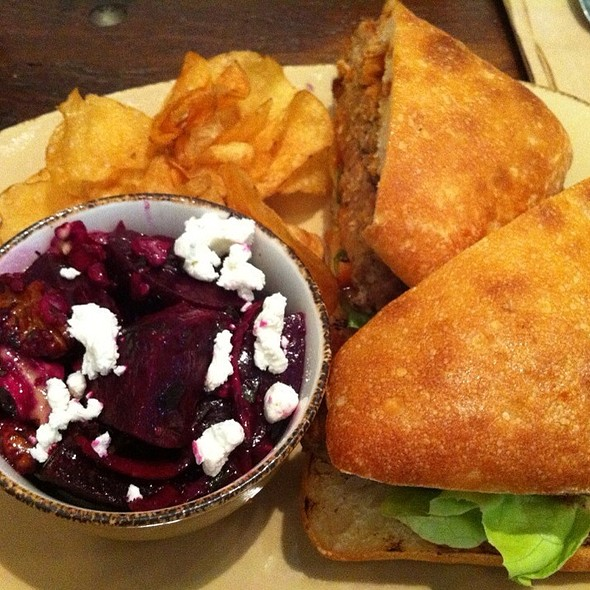 Turkey Meatloaf Sandwich @ Urban Plates