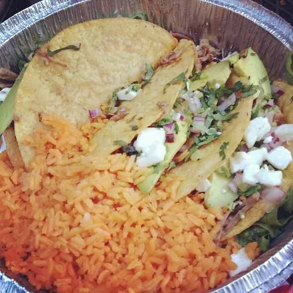 carnitas tacos @ Senorita's Mexican Restaurant