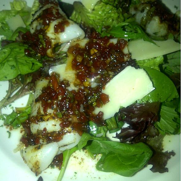 Grilled Calamari Salad - Mia Bella Trattoria - Vintage Park, Houston, TX