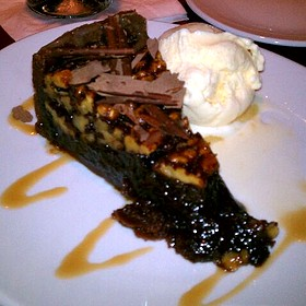 Walnut Turtle Pie - Fleming's Steakhouse - Baltimore, Baltimore, MD