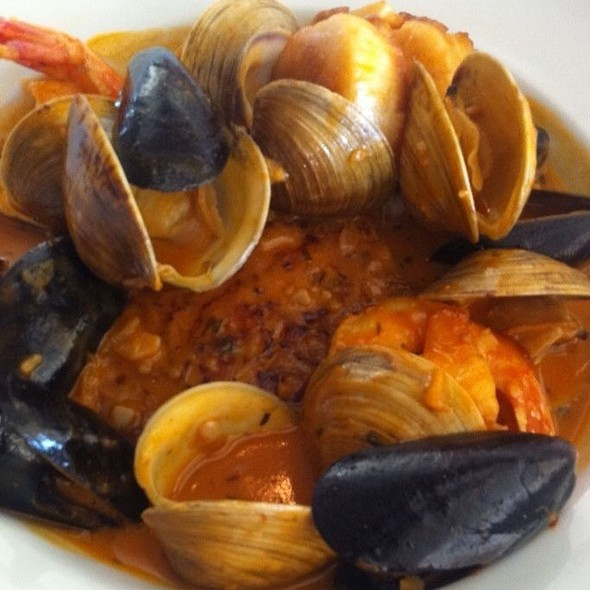 Pan-Roasted Crawfish,Clams,Mussels&Jumbo Shrimps  - Blue Moon Fish Co., Fort Lauderdale, FL