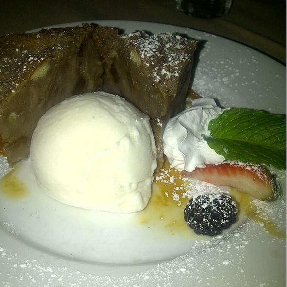 Bread Pudding - Mia Bella Trattoria - Vintage Park, Houston, TX
