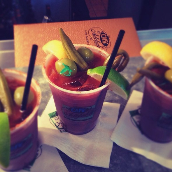 Lu's Bloody Mary @ Café Adelaide