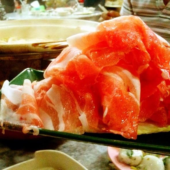Fresh Sliced Pork Loins @ World Of Dim Sum
