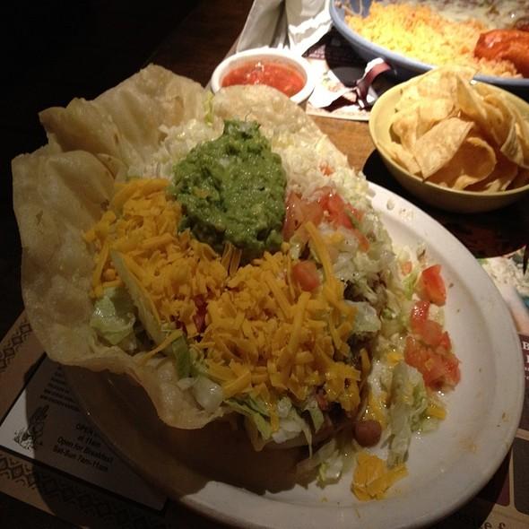 Paco's Grande Tostada @ Pacos Mexican Restaurant