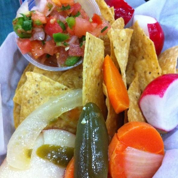 Chips and Salsa @ La Fiesta Taqueria