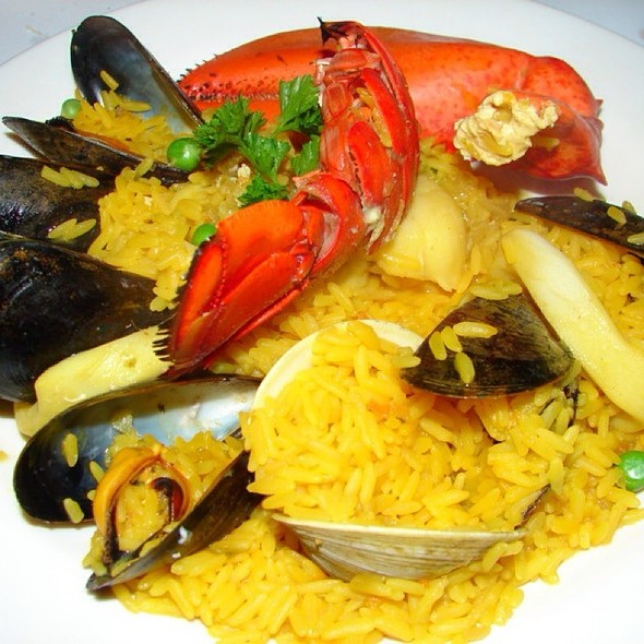 Seafood Paella - Cafe Español, New York, NY