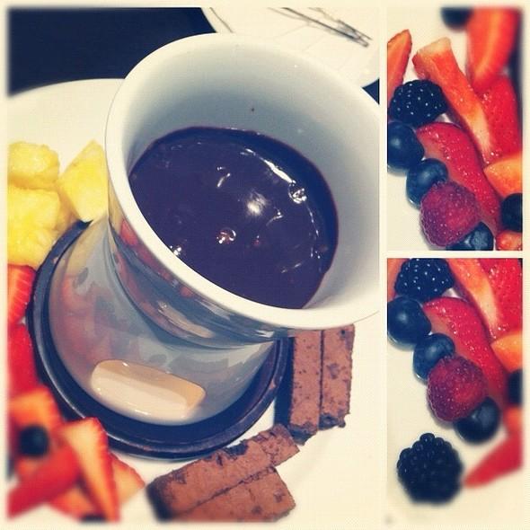 Chocolate Fondue @ Chocolate Bar