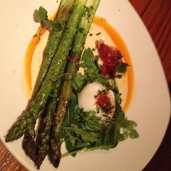 Roast Asparagus - Cin-Cin Wine Bar, Los Gatos, CA