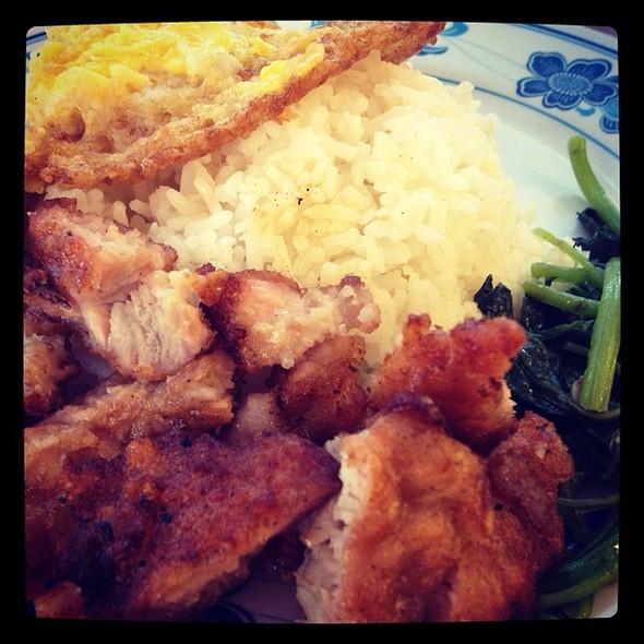 Pork Chop Rice @ Taiwan Noodle House