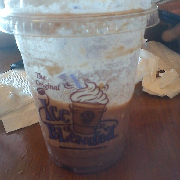 Double Chocolate Ice Blended @ The Coffee Bean and Tea Leaf