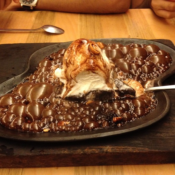 Sizzling Hot Brownie