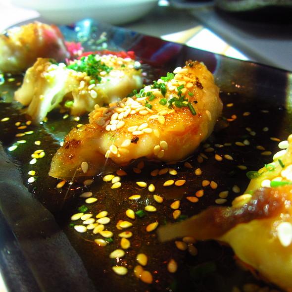 Seafood gyoza @ Inamo St James