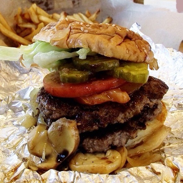 Great Burgers @ Five Guys Burgers & Fries
