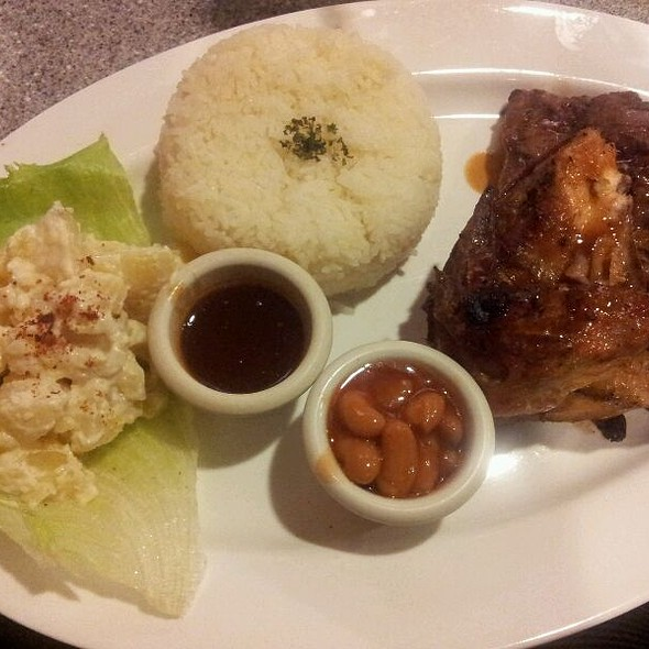 American Mixed Grill @ Charcoal BBQ & Grill