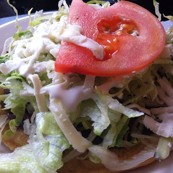 Tostada @ Nena Pizza And Mexican