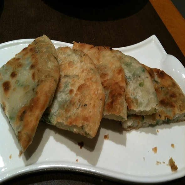 Swedish Oatmeal Pancakes and scrambled eggs with mushroom, green onion, and cheddar @ The Door Northern Chinese Dining