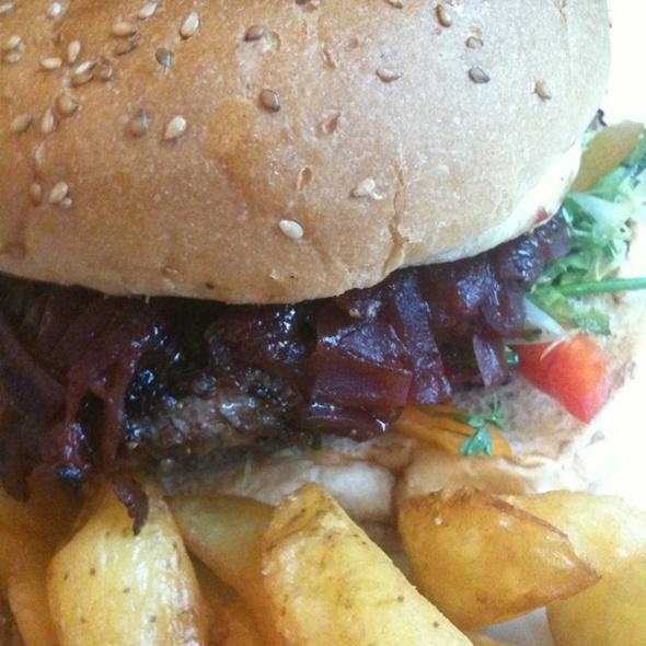 Reindeer Burger @ Blue Lagoon Restaurant