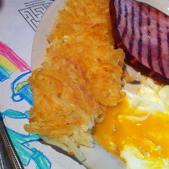 Ham Steak Breakfast @ Jimmys Egg