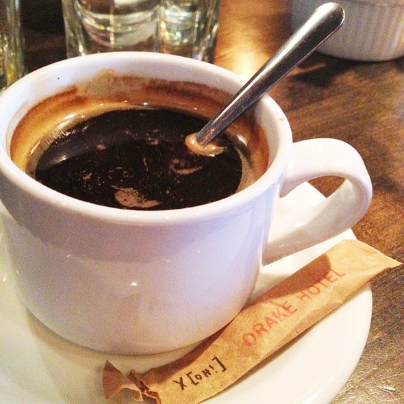 Cafe Americano @ Drake Hotel