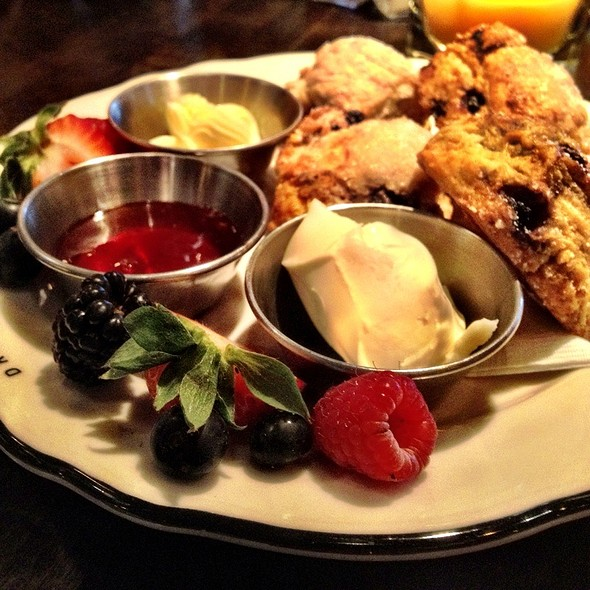 Warm Scone Share Plate @ Drake Hotel