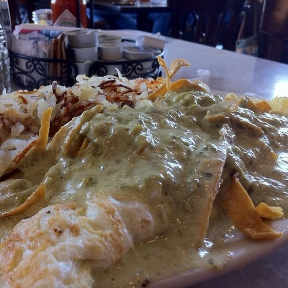 Poblano Omelette