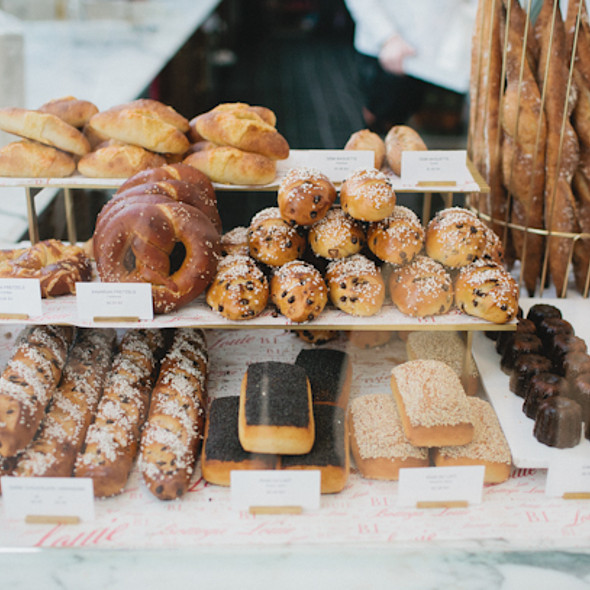 Bread @ Bottega Louie Restaurant and Gourmet Market