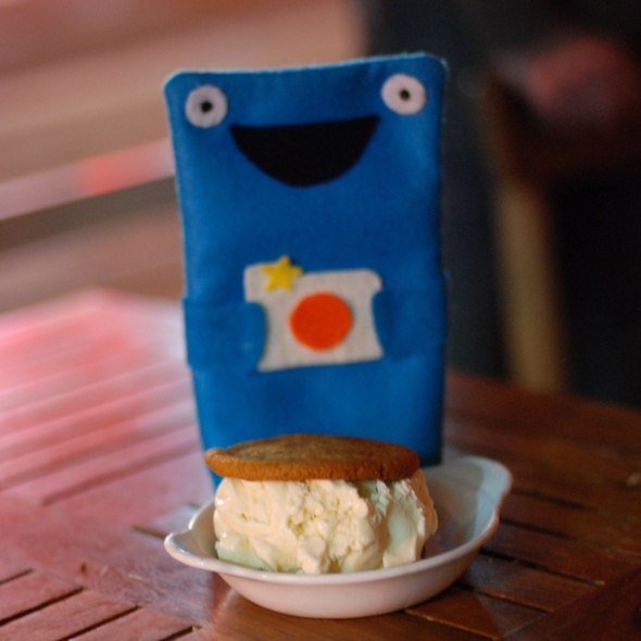 Ice Cream Sandwich @ The Meatball Shop