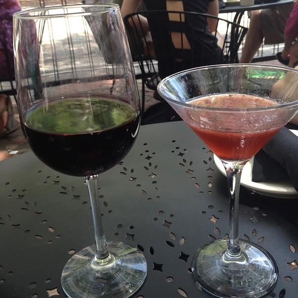 Strawberry Martini @ The Majestic Grille