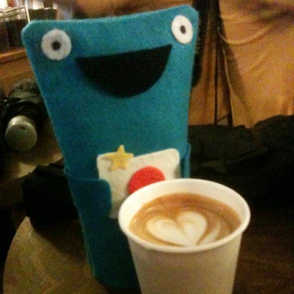 Cappuccino @ Cafe Grumpy