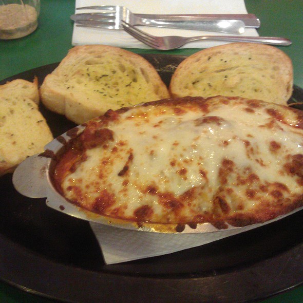 Meat Lasagna @ DD's Pizza