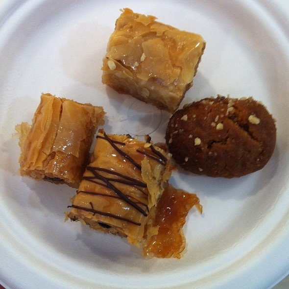 Greek Sweets @ Artopolis Bakery Inc