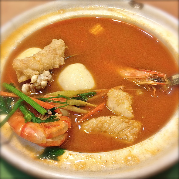 Tom Yum Seafood Soup @ Sakura Cuisine (S) Pte Ltd