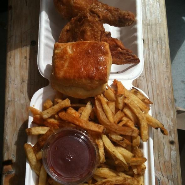 fried chicken @ Little Skillet