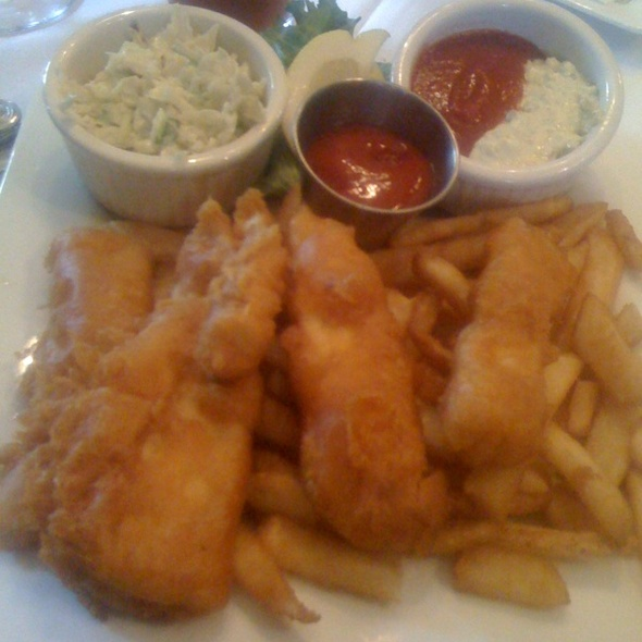 Halibut Fish and Chips @ Rapscallion Seafood House and Bar