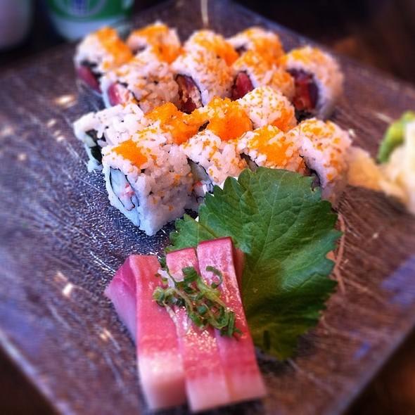 Yellowtail Sashimi And Key West Rolls @ Gekko Sushi and Lounge