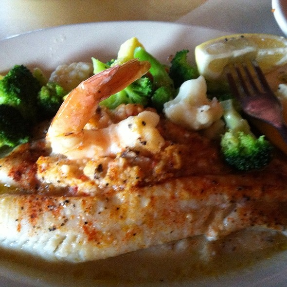 Crab Stuffed Pacific Flounder