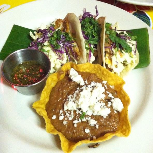 Pescado Tacos @ Gonza Tacos Y Tequila