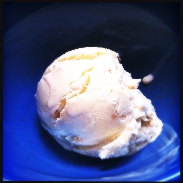 Lemon Cookie Ice Cream @ Three Twins Ice Cream