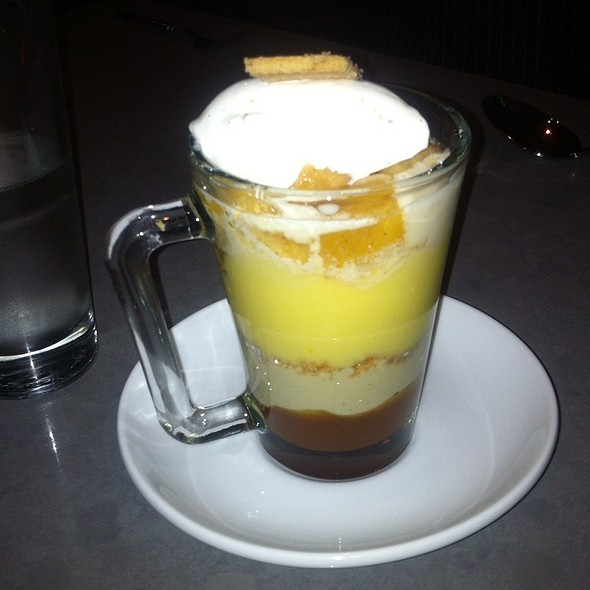 Banana Parfait @ The Burritt Room