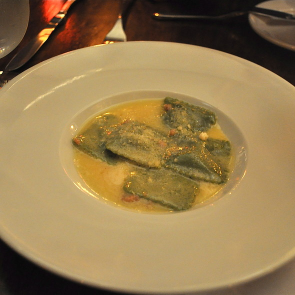Roasted Pumpkin Ravioli With Brown Butter And Sage - The Roost at LA Farm, Santa Monica, CA