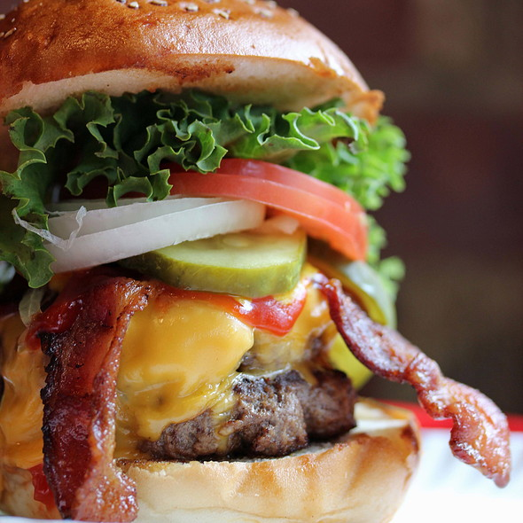 Double Bacon Cheeseburger @ F. Ottomanelli Burgers & Belgian Fries