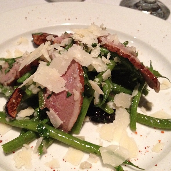 Duck With String Beans And Black Mission Figs @ Fringale Restaurant
