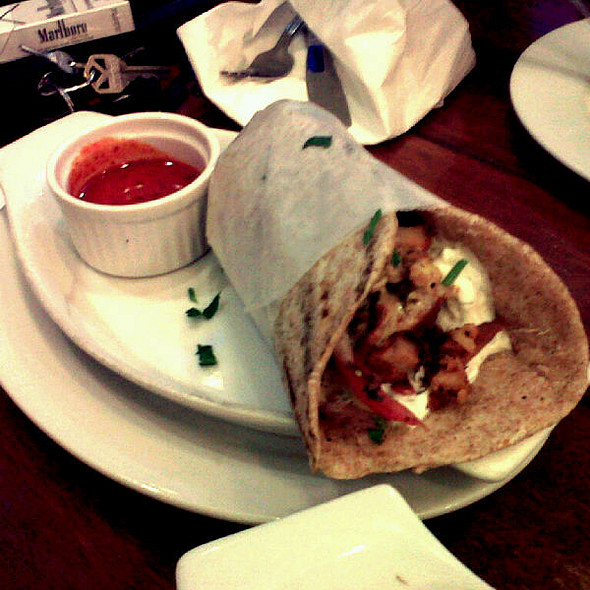 Chicken Gyro @ Cyma