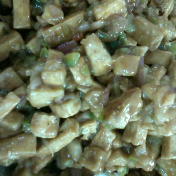 Sisig Tofu @ Home