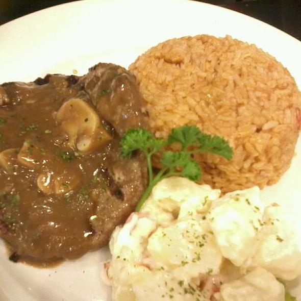 Grilled Salisbury Steak @ Almon Marina Sm Southmall