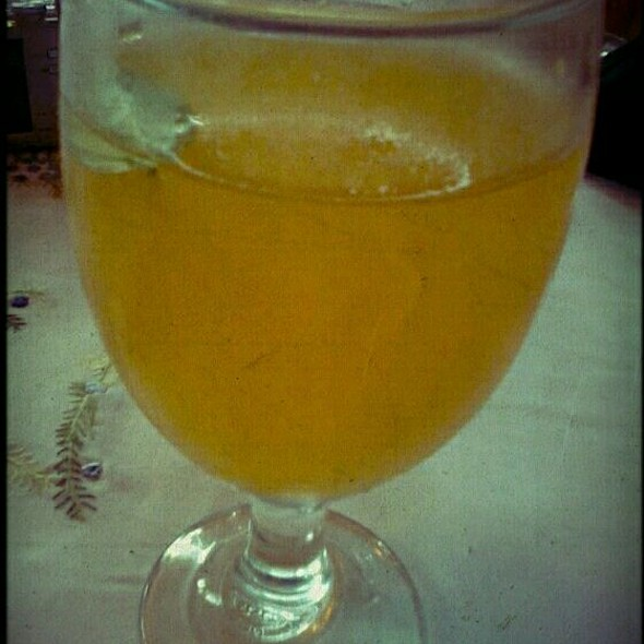 Fresh Dalandan Juice @ Sonya's Secret Garden