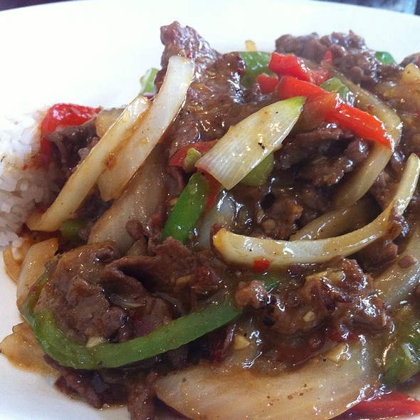 Lemongrass Beef In Chili Sauce @ Pho Xinh