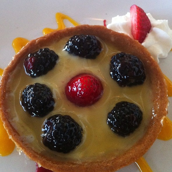 Raspberry tartlet - Salute E Vita Ristorante, Richmond, CA