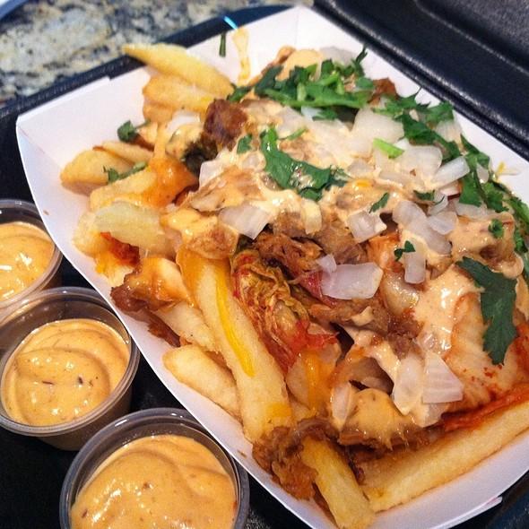 Kim Cheese Fries @ Coreanos Houston
